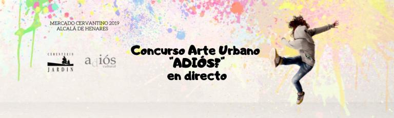 concurso arte urbano revista adios