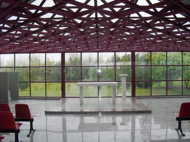 Interior de la Capilla de P.C.M.N